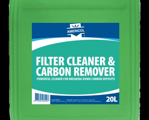 Filter Cleaner Carbon Remover 20L