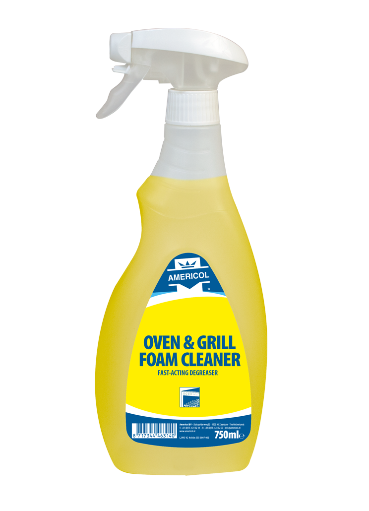 Oven grill foam cleaner 750ml